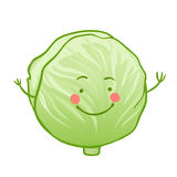 Funny vegetables  icon set Royalty Free Stock Photo