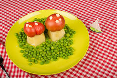 Funny veggies Royalty Free Stock Photo