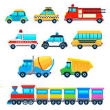 Funny vehicles stock image