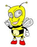 Funny wasp Royalty Free Stock Photos