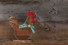Funny Welcome Chicken Rooster Country Cottage Kitchen Wood Shape Stock Images