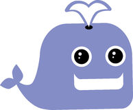 Funny Whale Stock Photo
