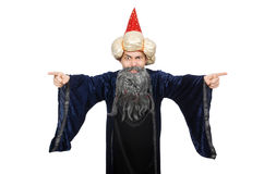 Funny wise wizard Royalty Free Stock Photography