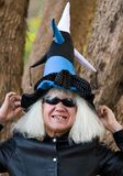 Funny witch Royalty Free Stock Photos
