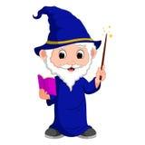 Funny witch cartoon Royalty Free Stock Photo