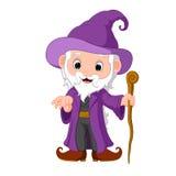 Funny witch cartoon Royalty Free Stock Photos