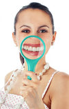 Funny woman Royalty Free Stock Images