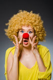 Funny woman Royalty Free Stock Image