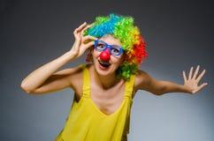 Funny woman Stock Photos