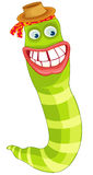 Funny worm Stock Photos