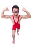 Funny wrestler Stock Photos