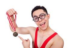 Funny wrestler Stock Images
