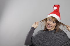 Funny xmas Stock Images