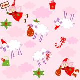 Funny xmas wallpaper Stock Photography