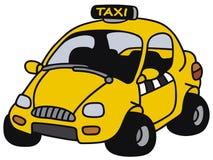 Funny yellow cab Royalty Free Stock Photos