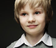 Funny young boy Royalty Free Stock Image