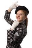 Funny young girl Stock Photos