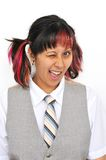 Funny Young Lady Stock Photo