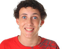 Funny young man Royalty Free Stock Image