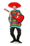 Funny young mexican Royalty Free Stock Photo