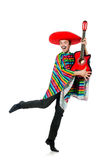 Funny young mexican Royalty Free Stock Image