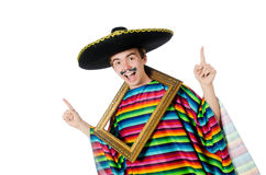 Funny young mexican Stock Image