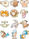 Funny Zodiac Royalty Free Stock Image