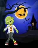 Funny zombie cartoon Royalty Free Stock Images
