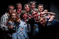 Funny zombie Stock Photos