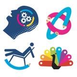 Funny_symbols_graphic_design Royalty Free Stock Photos