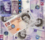 funtów banknotów fotografia stock