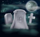 Funtowego szterlinga grób pojęcie Obrazy Royalty Free