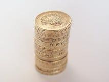 Funtowej monety stos Obraz Stock