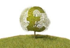 Funtowy znak na drzewie royalty ilustracja