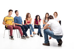 Funy course Stock Images