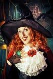 Funy czarownica Zdjęcie Royalty Free