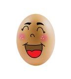 Funy eggs Stock Photos