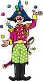 Funy general-juggler Stock Image