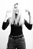 Funy Mädchen Lizenzfreie Stockfotografie