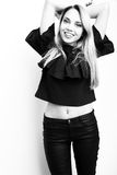 Funy Mädchen Stockfoto