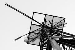 Funzionamento astratto del mulino a vento Fotografia Stock