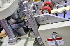 Funzionamento complesso della macchina per l'imballaggio delle merci Fotografia Stock Libera da Diritti