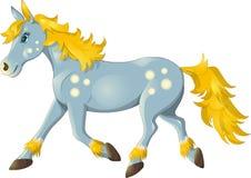 Funzionamento del cavallo Immagini Stock Libere da Diritti