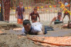 Funzionamento del fango Immagine Stock Libera da Diritti
