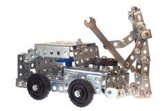 Funzionamento del meccanico-robot del motore. Fotografia Stock Libera da Diritti