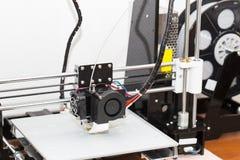funzionamento del meccanismo della stampante 3d Fotografia Stock
