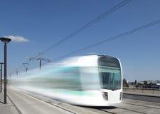 Funzionamento del tram Fotografia Stock