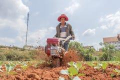 Funzionamento dell'agricoltore Immagine Stock Libera da Diritti