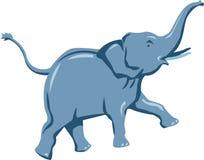 Funzionamento dell'elefante illustrazione vettoriale
