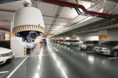 Funzionamento della macchina fotografica del CCTV Fotografia Stock Libera da Diritti